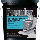 Premier 350 5 Gal. Wet or Dry Plastic Roof Cement Image 1