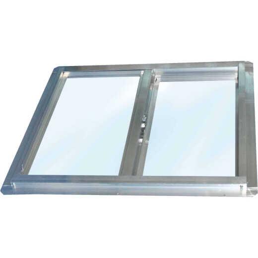 Croft Series 90 24 In. W. x 24 In. H. Glazed Mill Aluminum Sliding Window