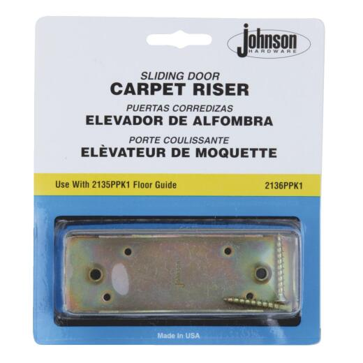Johnson Hardware Carpet Riser