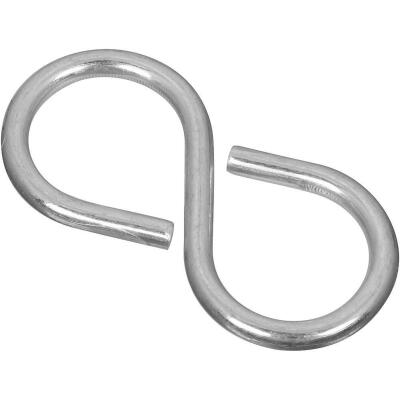 National 2-1/8 In. Zinc Light Closed S Hook (3 Ct.)