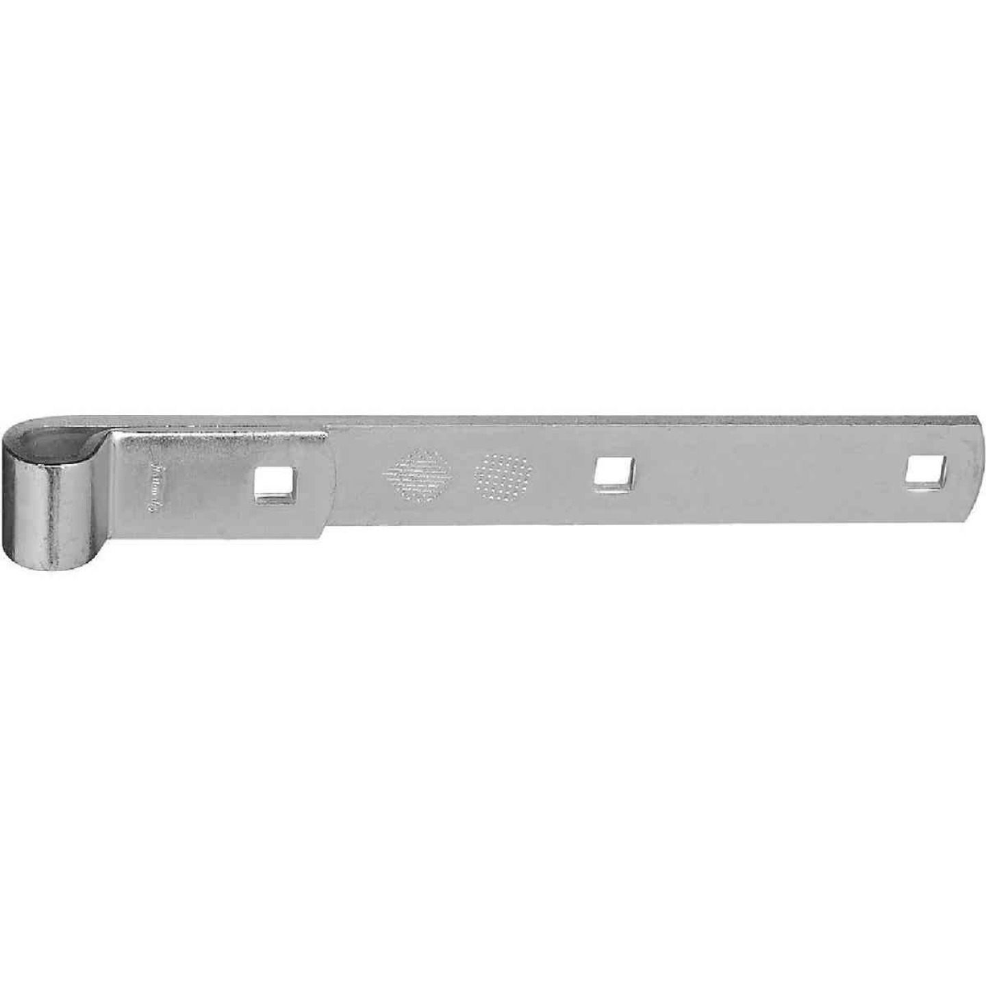 National 10 In. Zinc Hinge Strap Image 1