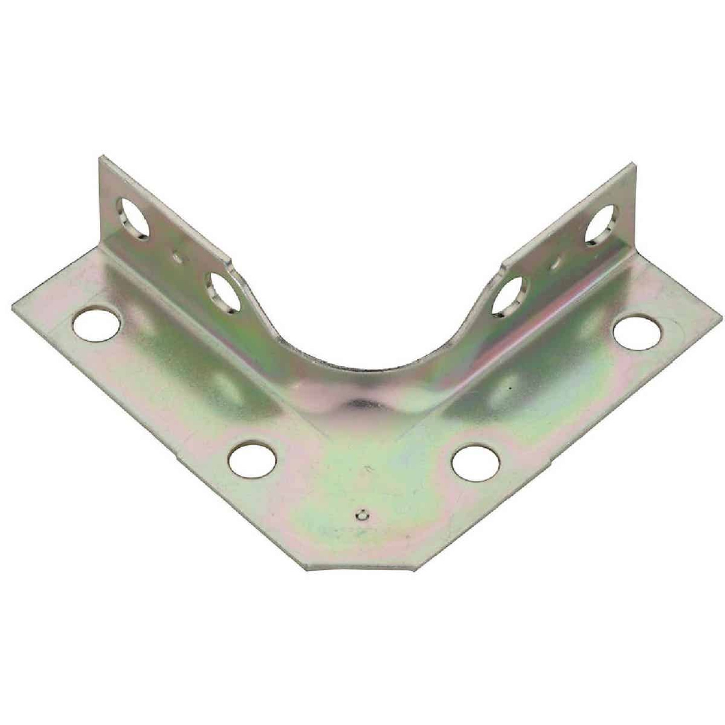 National Catalog V114 Series 2-1/2 In. x 5/8 In. Zinc Corner Brace (4-Count) Image 1