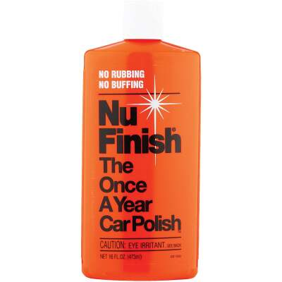 Nu Finish 16 Oz. Liquid Car Wax