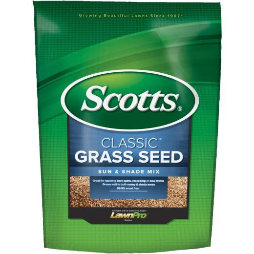 Scotts Classic 7 Lb. 2800 Sq. Ft. Coverage Sun & Shade Grass Seed