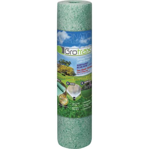 GroTrax Big Roll 100 Sq. Ft. Coverage Kentucky Blue/Rye Grass Seed Roll